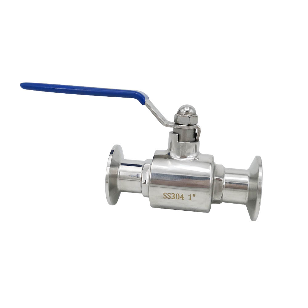 Stainless Steel Sanitary Straight Two Ways Manual Ball Valves