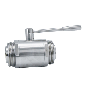 Hygienic Sanitary High Purity Male Thread Ball Valves