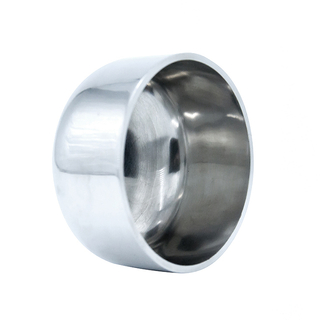 Sanitary Stainless Steel Pipe Blank Nut End Cap