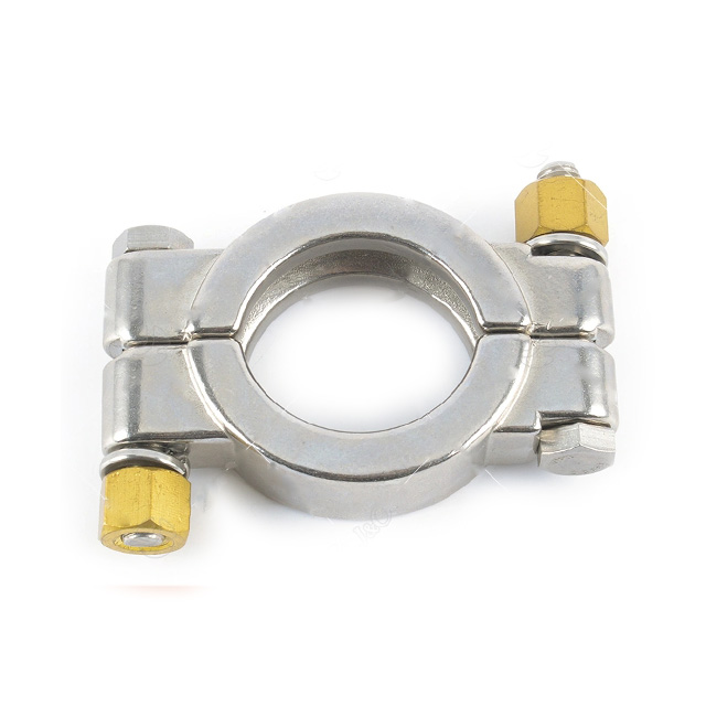 Sanitary 304 Pipe Fitting Single Clamp Ferrule Assembly