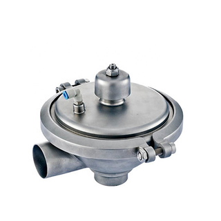 Sanitary Stainless Steel Constant Pressure Welding Safety Valve