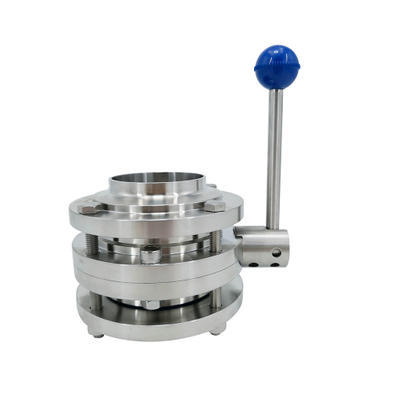 Sanitary Three-piece Manual Butterfly Valves With Gripper Handle.jpg