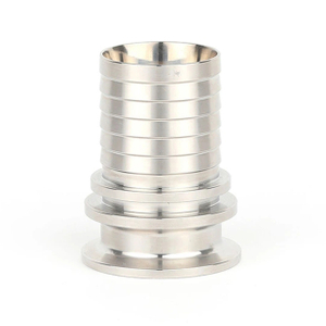 Sanitary Stainless Steel High Pressure Clamp Hose Adapter