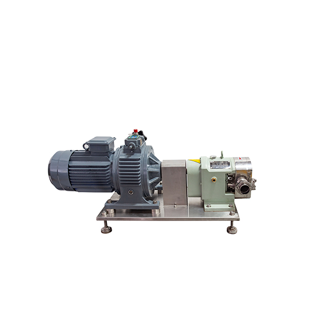 China Sanitary Stainless Steel Rotor Three Lobe Pump