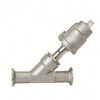Sanitary Forging Stainless Steel Clamp Angle Seat Valve