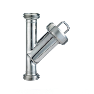Sanitary Stainless Steel Thread End Y Type Strainer