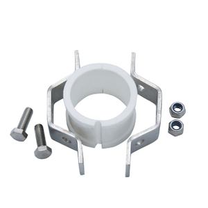 Sanitary Stainless Steel White Gasket Hexagon Pipe Holder