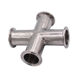 Sanitary Stainless Steel Connection Forged 3A Pipe Cross