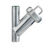 Sanitary Stainless Steel Through Type Clamp Filter Strainer