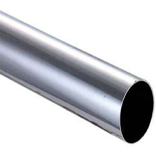 Hygienic Stainless Steel Mirror Welding Round Pipe Tube