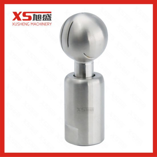 Stainless Steel Ss304 Ss316L CIP Revolved Spray Cleaning Ball