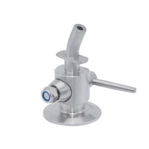 Sanitary Hygienic Tri-clamp Perlick Style Sampling Cock Valve