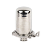 Sanitary Stainless Steel Adjustable Pressure Tank Clamp Breather