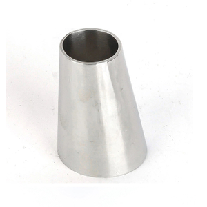 Sanitary Stainless Steel Welded Pipe Fitting Eccentric Reducer