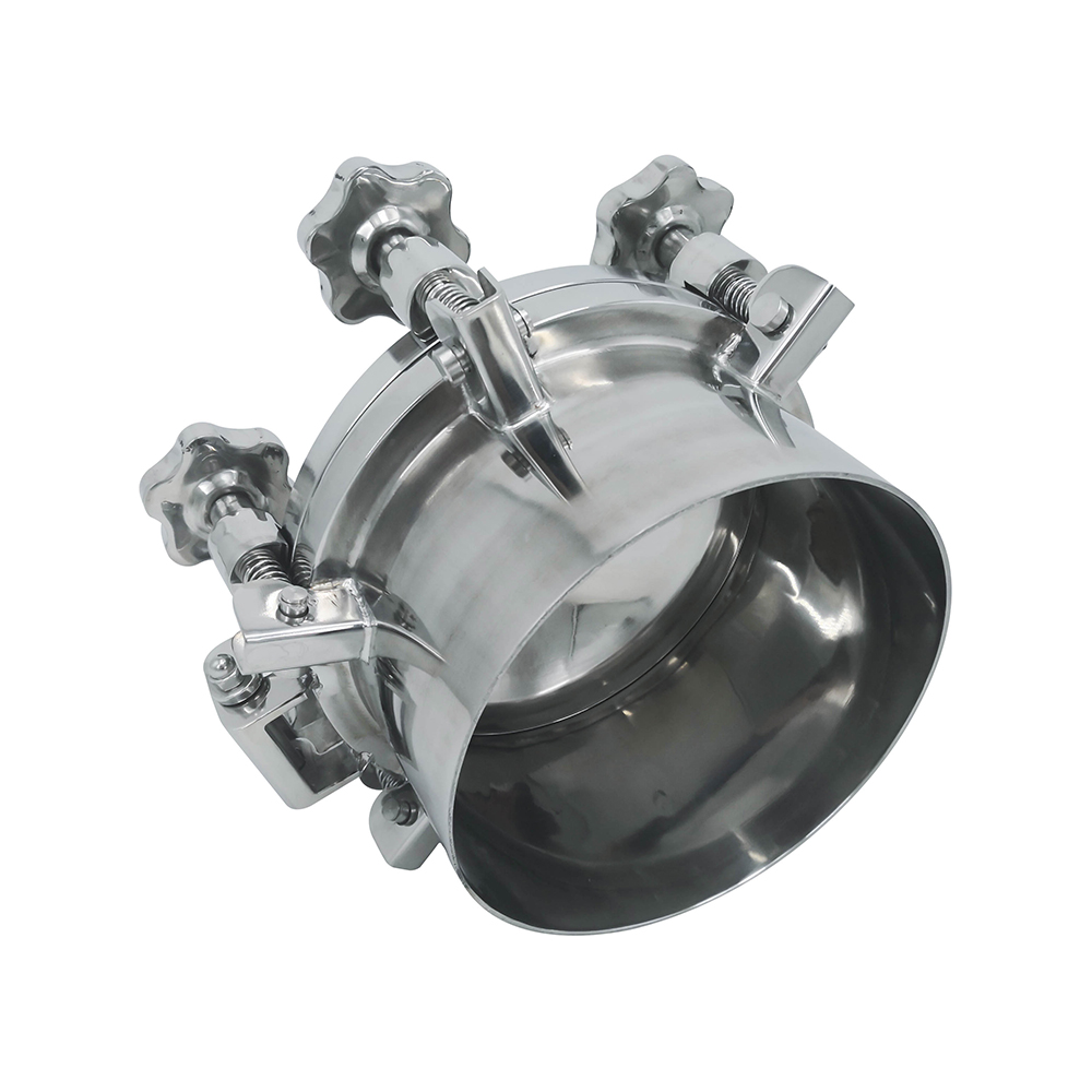 24inch Outward Stainless Steel Sanitary Pressure Tank Manway