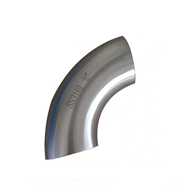 Sanitary Stainless Steel Pipe Fitting Wlding Elbow Bend