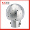 "1/2"" Stainless Steel Ss304 Food Grade Static Spray Washing Head"