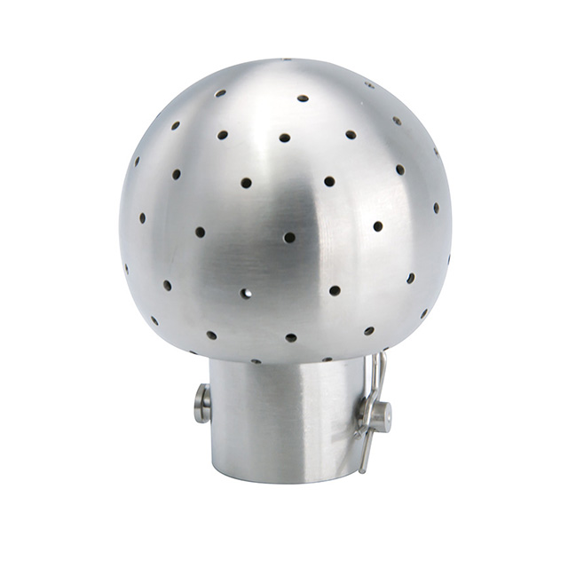 Sanitary Stainless Steel Fixed Bolted Cleaning Spray Ball