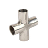 Sanitary Stainless Steel Pipe Fitting Four Way Cross
