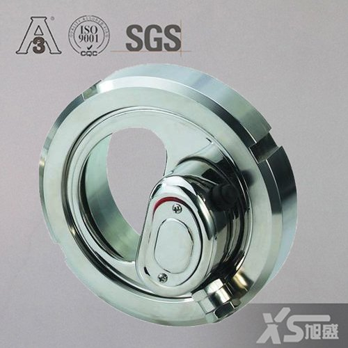 Dn150 Stainless Steel AISI316 DIN11850 Welding Light Indicator Sight Glass