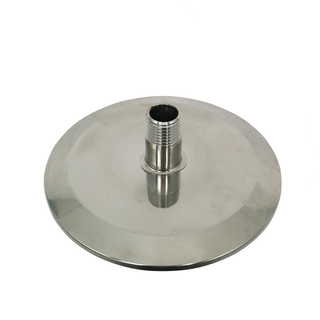 Sanitary Stainless Steel Hose Adaptor Blind End Cap