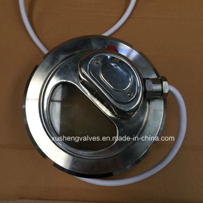 Dn80 Ss304 Stainless Steel Sanitary 24V Light Indicator Sight Glass