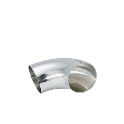 Sanitary Stainless Steel SS304 90 Degree Butt-Weld Bend