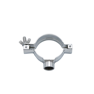 Stainless Steel SS304 Round Pipe Hanger with Threaded Bsp