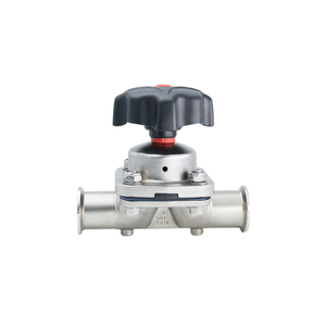 Stainless Steel Sanitary Manual Diaphragm Membrane Valve