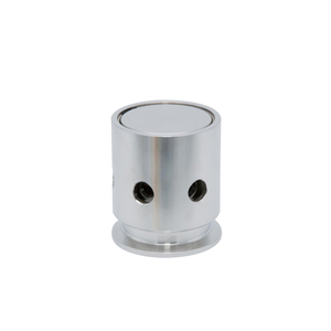 Sanitary Stainless Steel Tri Clamp Fix Relief Pressure Safety Valve