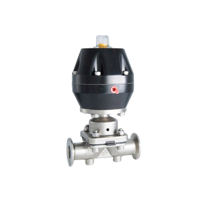 Hygienic Stainless Steel Clamped Pneumatic Actuator Diaphragm Valves