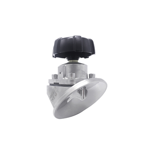 Sanitary Stainless Steel Manual Tank Bottom Diaphragm Valve