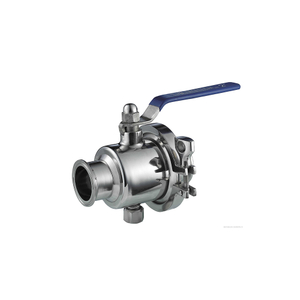 Stanitary Stainless Steel Quick Install Ball Valve